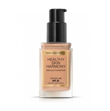 Fond de ten Max Factor Healthy Skin Harmony Miracle, 50 Natural, 30 ml1