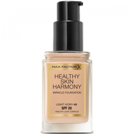 Fond de ten Max Factor Healthy Skin Harmony Miracle, 40 Light Ivory, 30 ml2