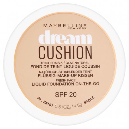 Fond de ten Maybelline Dream Cushion Liquid Foundation, 30 Sand, 14.6 g