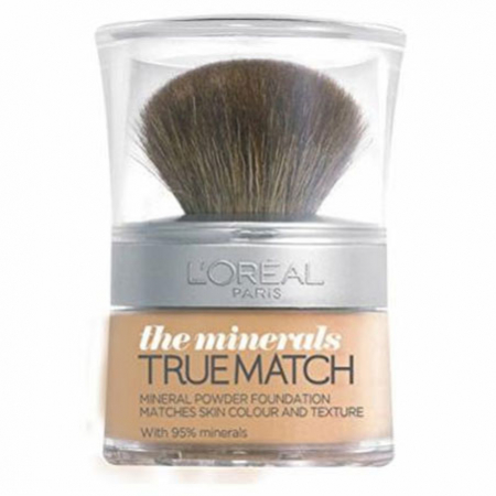 Fond De Ten Mineral L'Oreal Paris True Match the Minerals, N6 Honey Glow, 10 g