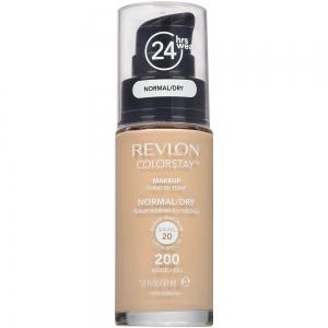 Fond De Ten Revlon Colorstay Normal / Dry Skin Cu Pompita - 200 Nude, 30 ml