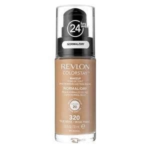 Fond De Ten Revlon Colorstay Normal / Dry Skin Cu Pompita - 320 True Beige, 30ml