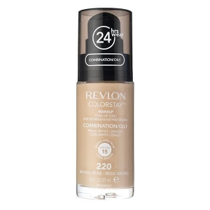 Fond De Ten Revlon Colorstay Oily Skin Cu Pompita - 220 Natural Beige, 30ml