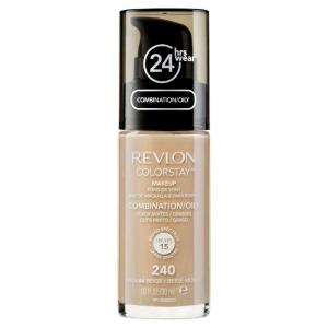 Fond De Ten Revlon Colorstay Oily Skin Cu Pompita - 240 Medium Beige, 30ml