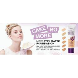 Fond De Ten RIMMEL STAY MATTE Liquid Mousse - 201 Classic Beige,30 ml1