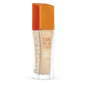 Fond de Ten Rimmel Wake Me Up - 200 Soft Beige, 30 ml0