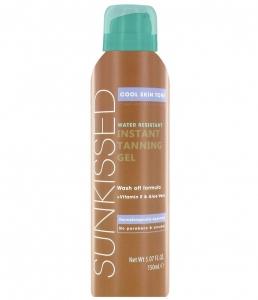 Gel Autobronzant Sunkissed Instant Tanning Gel Cool Skin Tone, 150 ml
