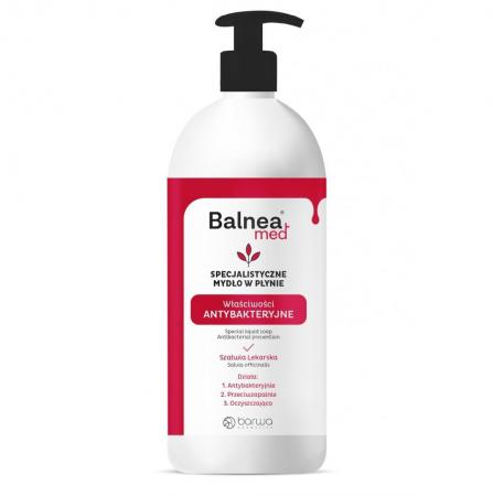 Sapun lichid antibacterian, Balnea Med, Barwa Cosmetics, 500 ml