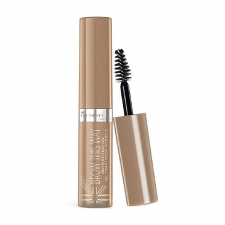 Gel pentru Sprancene Rimmel London Brow This Way, 001 Blonde, 5 ml