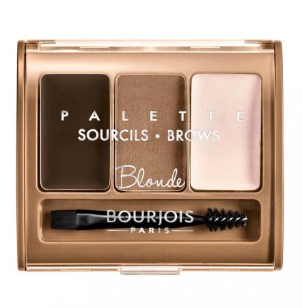 Paleta pentru definirea sprancenelor BOURJOIS Paris Brow Palette, Blonde, 4.5 g