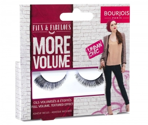 Gene False Cu Adeziv Inclus BOURJOIS Paris More Volume - Urban Chic