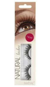 Gene False cu Aspect Natural TECHNIC Natural Lashes, adeziv inclus A130