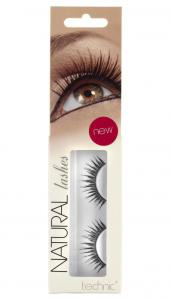 Gene False cu Aspect Natural TECHNIC Natural Lashes, adeziv inclus A360