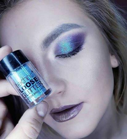Glitter ochi pulbere TECHNIC Loose Glitter, Cape San Blas1