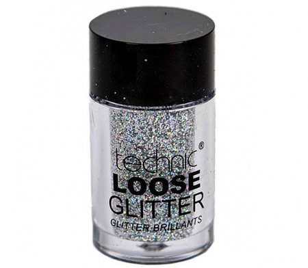 Glitter ochi pulbere TECHNIC Loose Glitter, Shark Skin1