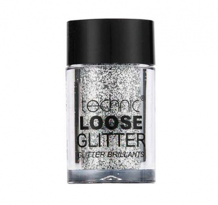 Glitter ochi pulbere TECHNIC Loose Glitter, Shark Skin