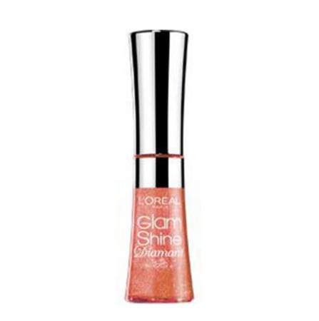 Gloss L'oreal Glam Shine Diamant - 161 Amber Carat