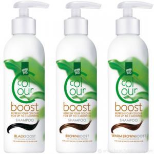 Sampon colorant HennaPlus Colour Boost, Black - 200 ml1