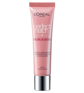 Iluminator multifunctional L'OREAL Perfect Match Highlighter - 201.N Rosy Glow, 30 ml