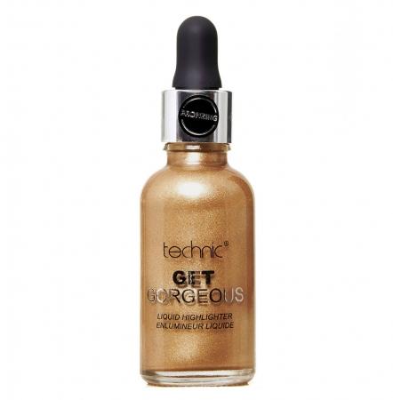 Iluminator Lichid Cu Particule Irizante Technic Get Gorgeous - Bronze, 34 ml