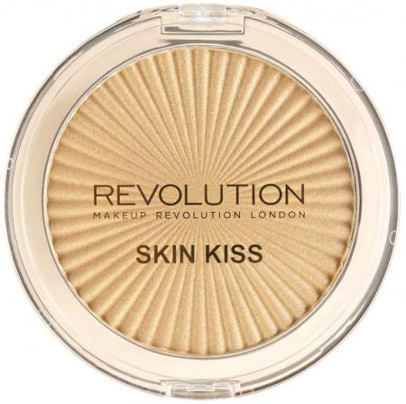 Paleta Iluminatoare MAKEUP REVOLUTION Skin Kiss, Golden Kiss, 14 g