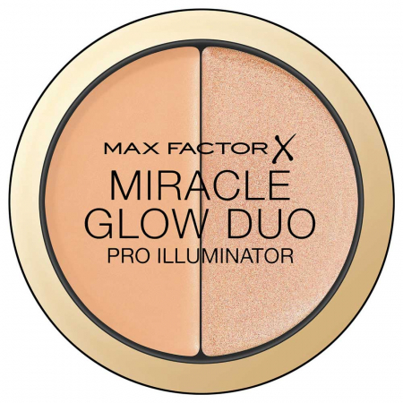 Iluminator MAX FACTOR Miracle Glow Duo Pro Illuminator, 20 Medium, 11 g