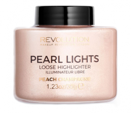 Iluminator Pulbere MAKEUP REVOLUTION Pearl Lights Loose Highlighter - Peach Champagne, 25 g2