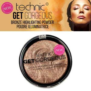 Iluminator cu particule bronzante Technic Get Gorgeous Highlighting Powder, 12g2