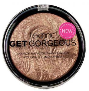 Iluminator cu particule bronzante Technic Get Gorgeous Highlighting Powder, 12g