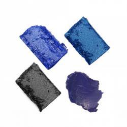 Kit Farduri si Tus de Ochi SLEEK MakeUP i-Quad Eyeshadow & Eyeliner Limited Edition - Midnight Blues, 3g2