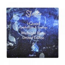 Kit Farduri si Tus de Ochi SLEEK MakeUP i-Quad Eyeshadow & Eyeliner Limited Edition - Midnight Blues, 3g1