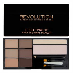Kit Complet Pentru Sprancene Makeup Revolution Ultra Brow - Fair To Medium
