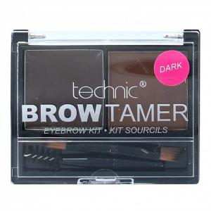 Kit Pentru Sprancene Cu 2 Nuante Technic Brow Tamer - Dark