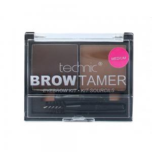Kit Pentru Sprancene Cu 2 Nuante Technic Brow Tamer - Medium