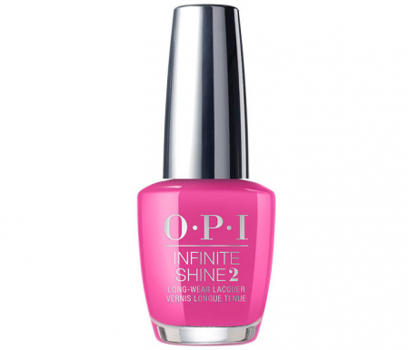 Lac de unghii OPI Infinity Shine 2 Lisbon Collection No turning back from pink street, 15 ml