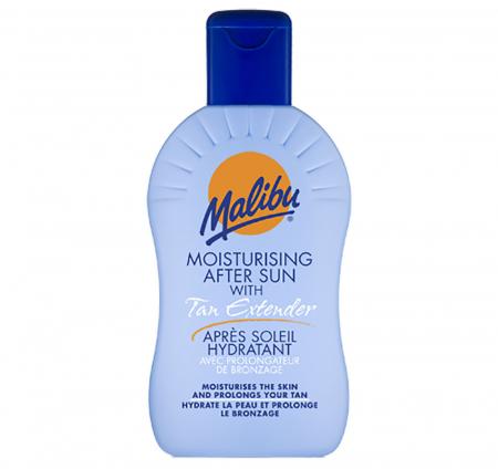 Lotiune After Sun cu Autobronzant pentru prelungirea bronzului MALIBU Tan Extender, 200 ml