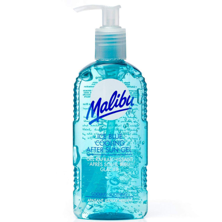 Lotiune After Sun MALIBU Ice Blue Cooling After Sun Gel, 200ml