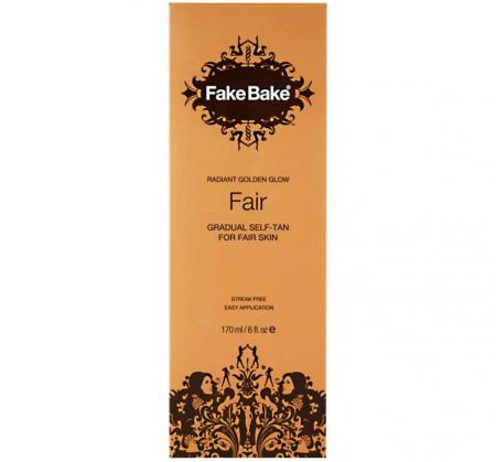 Lotiune Autobronzanta Profesionala FAKE BAKE Gradual Self-Tan, Radiant Golden Glow, Fair, 170 ml2