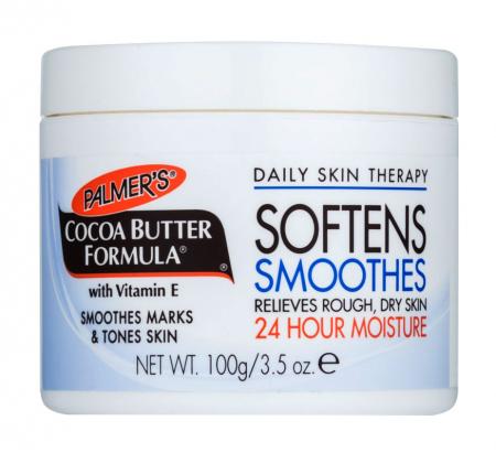 Unt de cacao pentru corp, PALMER'S Cocoa Butter Formula, Vitamina E, Hidratare 24h, 100 g