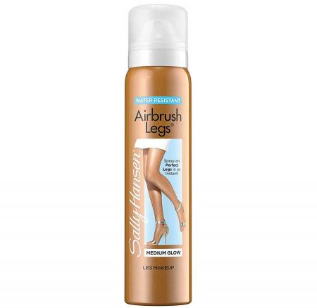 Makeup Autobronzant pentru picioare SALLY HANSEN Airbrush Legs, Medium Glow, 124.7 g