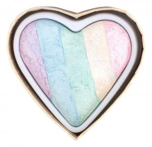 Iluminator Makeup Revolution I Heart Makeup a Rainbow Highlighter made by unicorns - Unicorns Heart