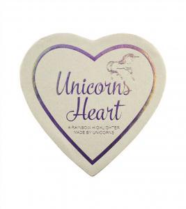 Iluminator Makeup Revolution I Heart Makeup a Rainbow Highlighter made by unicorns - Unicorns Heart2
