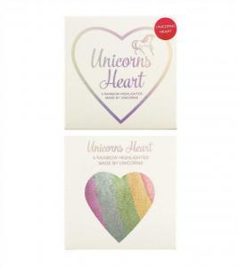 Iluminator Makeup Revolution I Heart Makeup a Rainbow Highlighter made by unicorns - Unicorns Heart3