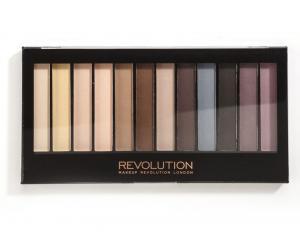 Paleta Profesionala 12 Farduri Mate Makeup Revolution Essential Mattes
