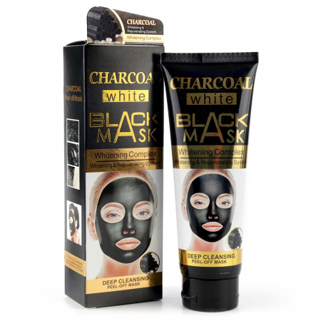 Masca de fata exfolianta cu Carbune Activ, CHARCOAL Black Mask, 130 ml