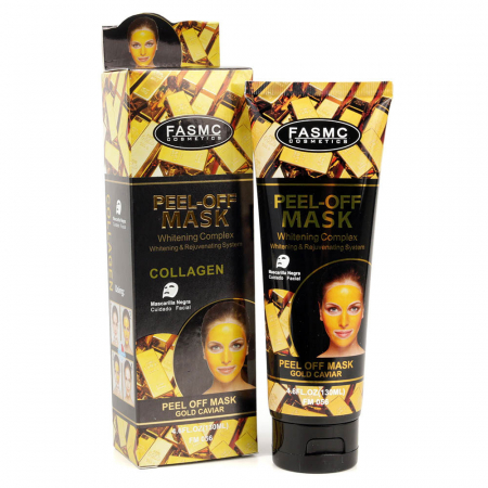 Masca de fata exfolianta cu Aur, Colagen si Extract de Caviar, Peel-Off Gold Caviar Mask, 130 ml
