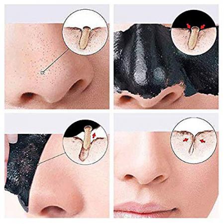 Masca neagra detoxifianta cu carbune activ REVUELE Pure Black D-Tox Bamboo Charcoal, Face Mask, 80 ml4