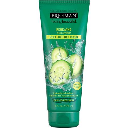 Masca exfolianta pentru ten obosit FREEMAN Renewing Cucumber Peel-Off Gel Mask, 175 ml0