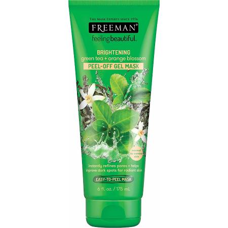 Masca exfolianta antioxidanta cu Vitamina C si Ceai Verde FREEMAN Brightening Green Tea Peel-Off Gel Mask, 175 ml