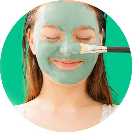 Masca pentru tenul gras FREEMAN Oil Absorbing Mint + Lemon Clay Mask, 175 ml4